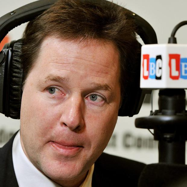 Nick Clegg said the UK should instead embracce its position on the EU and 'act big'