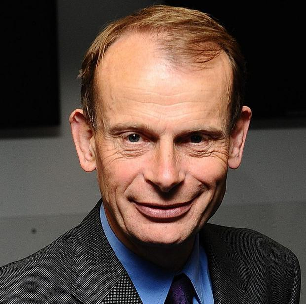Andrew Marr is conscious and responding to medication as he recovers in hospital following a stroke