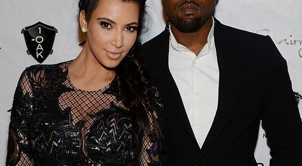 Cashing in: Kim Kardashian and Kanye West