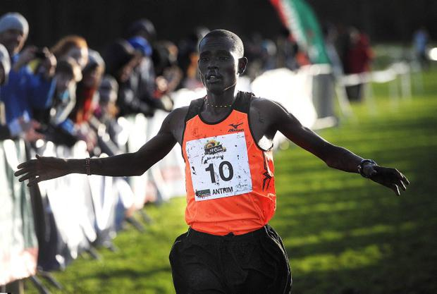 Kenya's Bernard Rotich is tipped to win the IAAF International Cross Country at Greenmount tomorrow