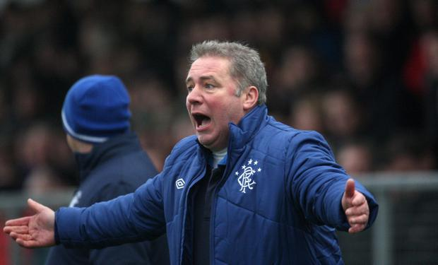 Ally McCoist is looking for players despite the transfer ban
