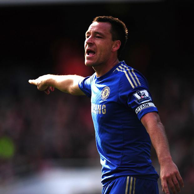After playing 45 minutes for Chelsea's under-21 side, John Terry said his knee feels 'fine'
