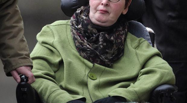 Terminally-ill Marie Fleming has lost her battle to have someone help her commit suicide