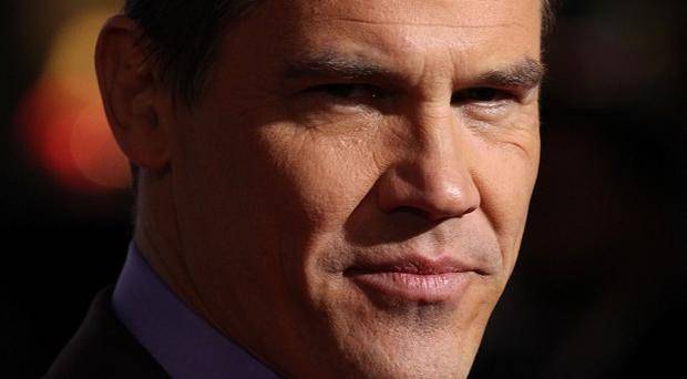 Josh Brolin brought his dad James onto the set of Gangster Squad