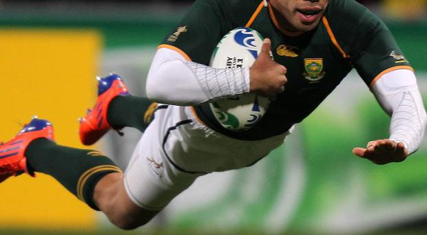 Bryan Habana will link up with Toulon at the end of the Super Rugby campaign