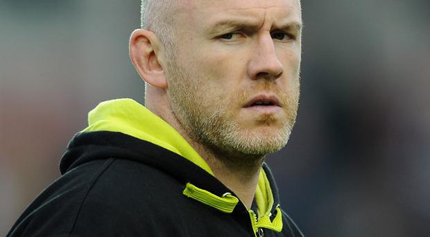 Steve Tandy , pictured, will be without Ashley Beck, Alun-Wyn Jones, Ian Evans and Aaron Jarvis against Leicester