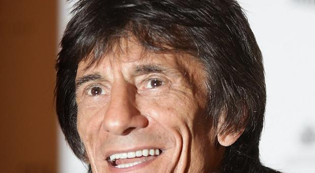 Ronnie Wood joined the Rolling Stones in 1975