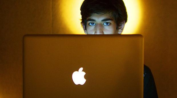 Internet activist Aaron Swartz (AP/The New York Times, Michael Francis McElroy)