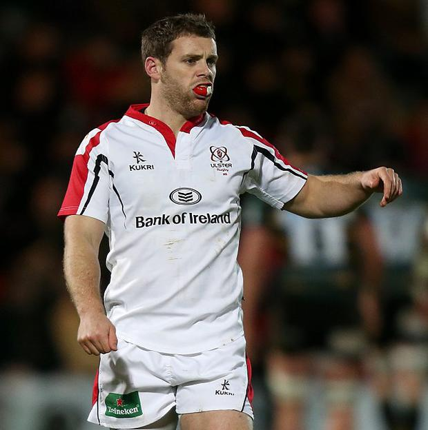 Darren Cave is back in action for Ulster