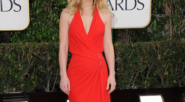 Claire Danes took to the red carpet at the Golden Globes
