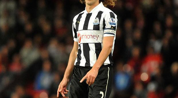 Central defender Fabricio Coloccini could be set to leave Newcastle