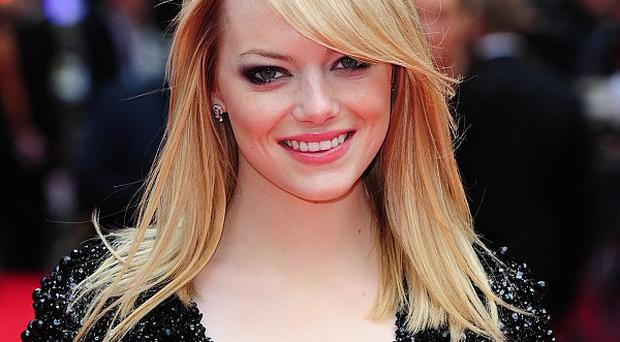 Emma Stone would like to play a mime