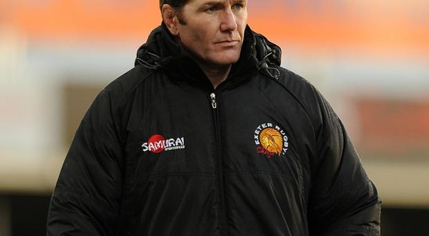 Rob Baxter will take the positives from Exeter's defeat to Clermont
