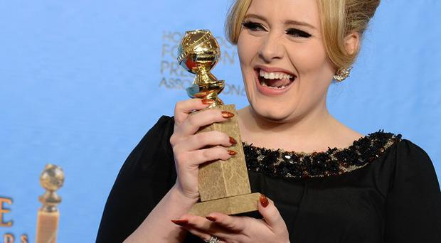 Adele's James Bond theme tune won her a Golden Globe