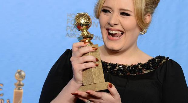 Adele won an award for best original song in a motion picture for Skyfall (Jordan Strauss/Invision/AP)