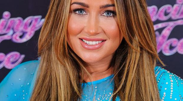 Lauren Goodger has been eliminated from Dancing On Ice