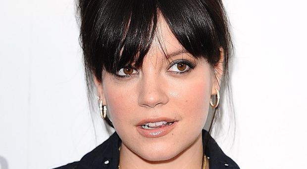 Lily Allen took to Twitter after a midwife failed to visit her at home