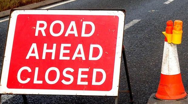 A 19-month-old boy has died following a collision involving two cars in Co Fermanagh