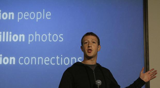 Facebook chief Mark Zuckerberg speaks about Facebook Graph Search (AP)