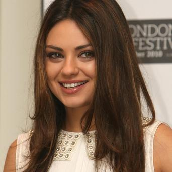 Mila Kunis was pictured in the Rodial advert