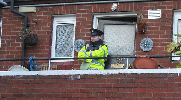 The bodies of a man and a woman were found at a house on Drumalee Court in Stoneybatter, Dublin