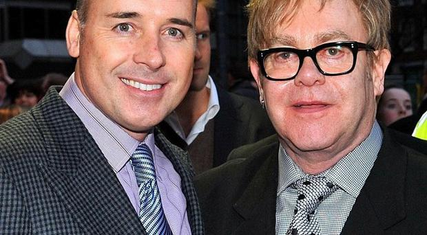 Sir Elton John and his partner David Furnish have become parents for the second time