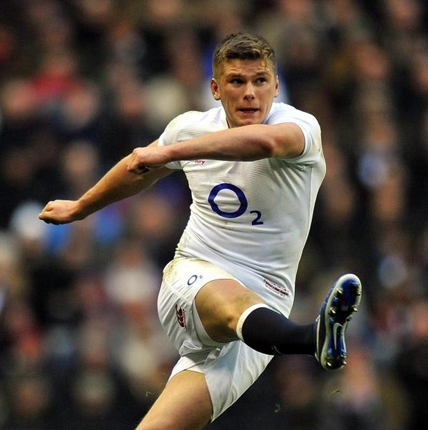 Owen Farrell has extended his run of consecutive successful shots at goal to 29