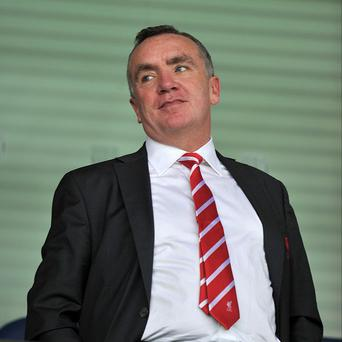 Ian Ayre, pictured, has hailed the balance of Brendan Rodgers' squad