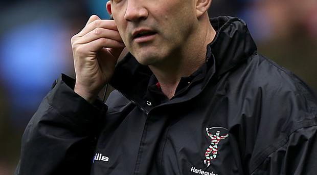 Conor O'Shea was delighted with Quins' 'superb rugby' in the second half