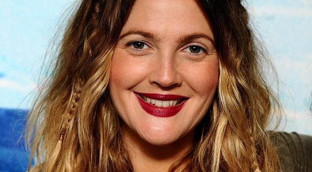 Drew Barrymore became mum to daughter Olive in September