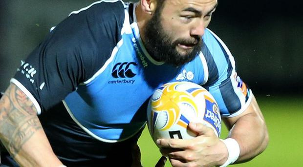 Troy Nathan, right, joined Glasgow Warriors in the summer of 2011