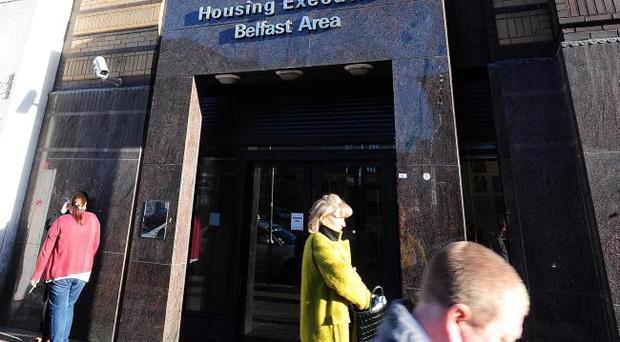Change: McCausland's plans to transfer management of public sector housing from the Housing Executive has sparked concern