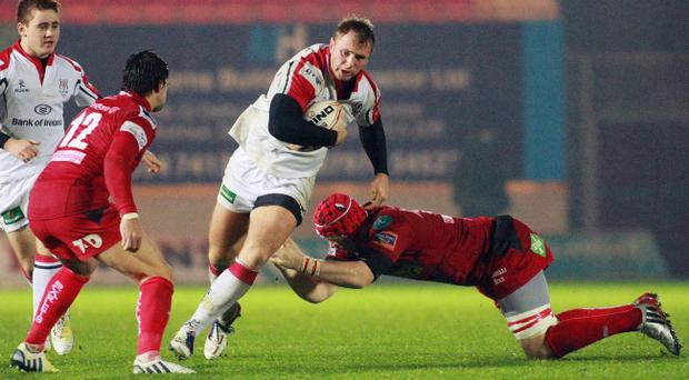 Roger Wilson wants to secure a win in Castres with Ulster, just like he did when he was playing for Northampton