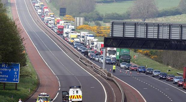 Petrogas is to build Northern Ireland's first motorway service station on the M2