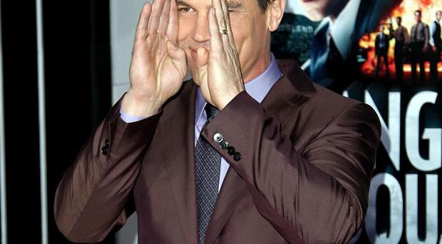 Hard-working actor Josh Brolin likes to ring the changes with his roles