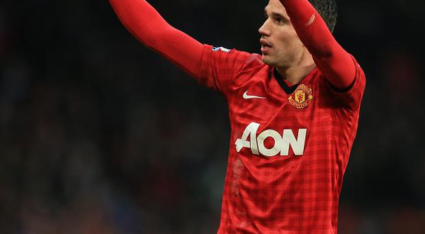 Robin van Persie has weighed in with 21 goals for Manchester United
