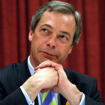 UKIP's Nigel Farage should not be included in the leaders' debates at the next general election, David Cameron said