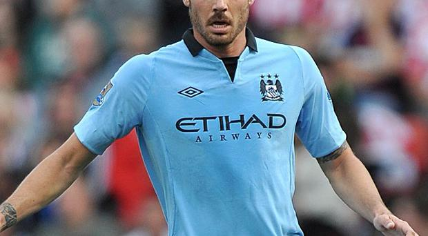 Javi Garcia, pictured, could have a crucial role to play for Manchester City in the absence of Yaya Toure