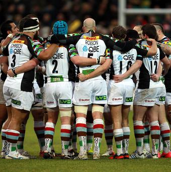 Harlequins have already secured a home quarter-final