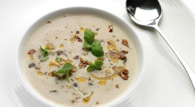 Recipe Chestnut Amp Artichoke Soup Belfasttelegraph Co Uk