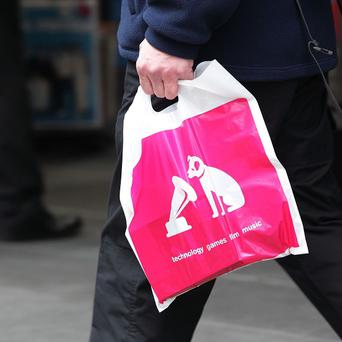 Accountancy firm Deloitte has been appointed to take control of assets linked to 16 stores operated by HMV in Ireland