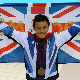 Tom Daley said he's thrilled to have landed his position on Splash!