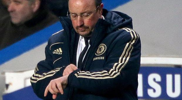 Rafael Benitez has so far failed to win over the Chelsea fans