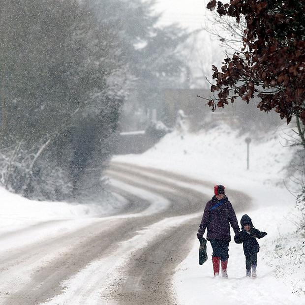 Further heavy snow and freezing temperatures are expected