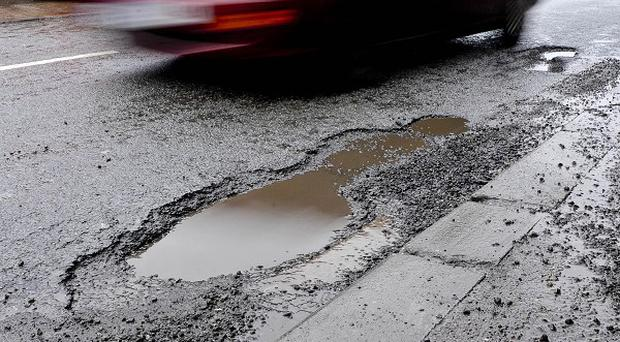 Drivers whose vehicles were damaged by potholes received more than 20 million pounds collectively in compensation last year