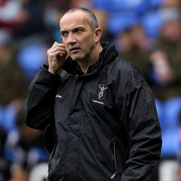 Conor O'Shea's Harlequins condemned Biarritz to a rare home defeat
