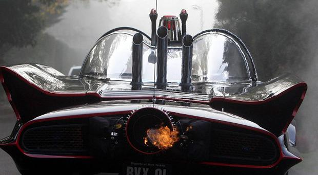 The 60s TV Batmobile had lasers and a Batphone and could lay down smoke screens and oil slicks