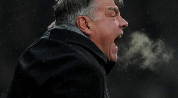 Sam Allardyce's West Ham were held to a draw by lowly QPR