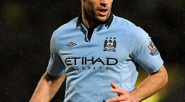 Pablo Zabaleta limped off with a foot injury against Fulham