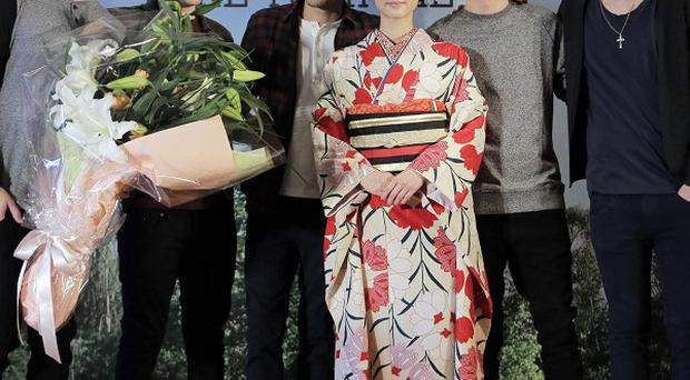 One Direction have had a great reception in Japan